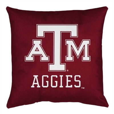 NCAA Texas A&M Sidelines Throw Pillow