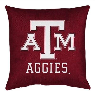 NCAA Texas A&M Sidelines Throw Pillow