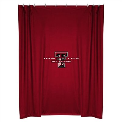 NCAA Shower Curtain NCAA Team: Texas Tech