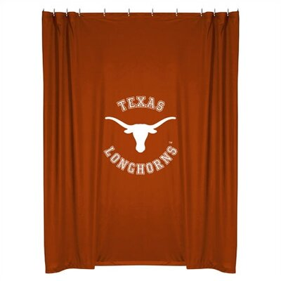 NCAA Shower Curtain NCAA Team: Texas