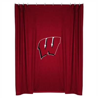 NCAA Wisconsin Shower Curtain