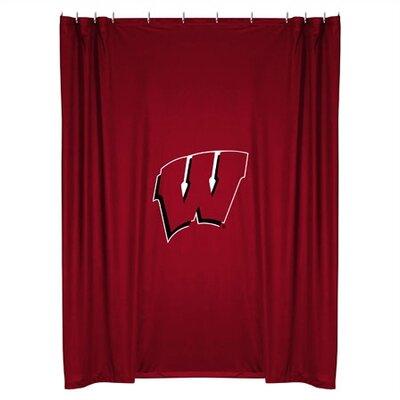 NCAA Shower Curtain NCAA Team: Wisconsin