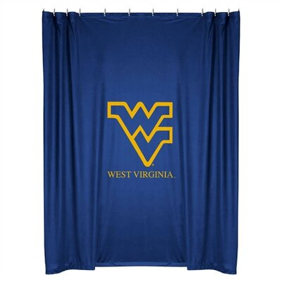 NCAA West Virginia Shower Curtain