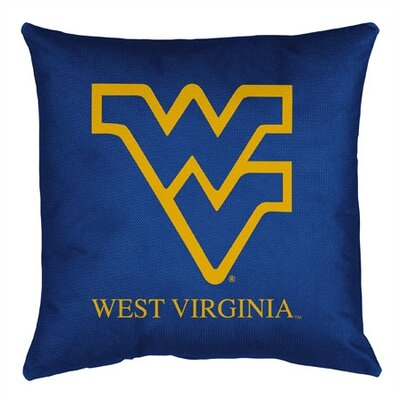 NCAA Throw Pillow NCAA Team: West Virginia