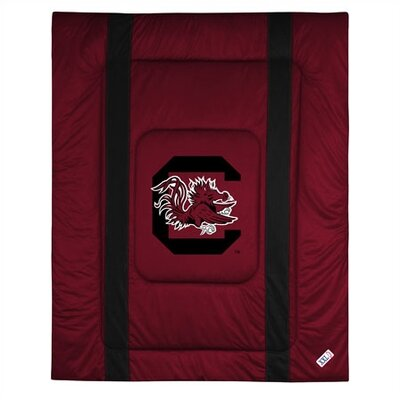 NCAA University of South Carolina Sidelines Comforter Size: Full/Queen