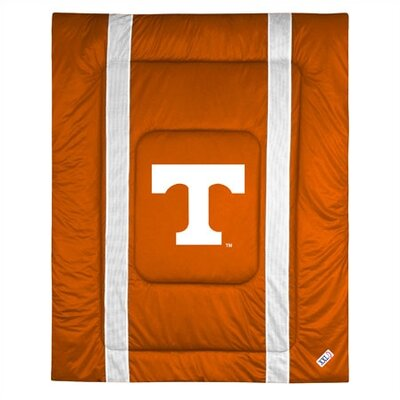NCAA University of Tennessee Sidelines Comforter Size: Full/Queen