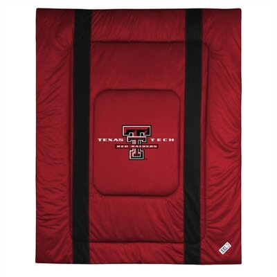 NCAA Texas Tech Sidelines Comforter Size: Twin