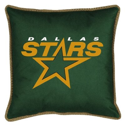 NHL Sidelines Throw Pillow NHL Team: Dallas Stars