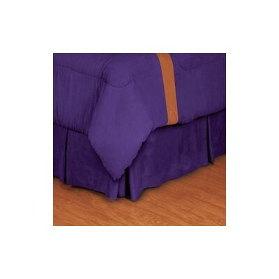 NBA Los Angeles Lakers Bed Skirt Size: Twin