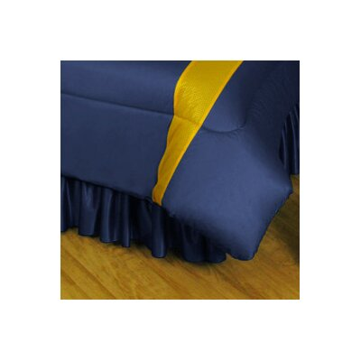 NHL Buffalo Sabres Polyester Jersey Bed Skirt Size: Full