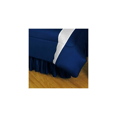 NHL Toronto Maple Leafs Polyester Jersey Bed Skirt Size: Queen