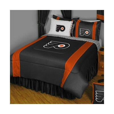 NHL Philadelphia Flyers Sidelines Comforter Size: Twin