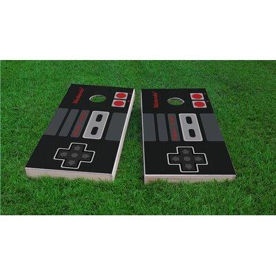 Nintendo Controller Cornhole Game Set CCB116-2x4-AW
