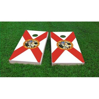 State of Florida Flag Cornhole Game Set CCB123-2x4-AW