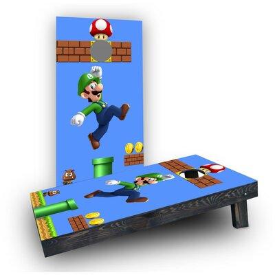 Super Mario Brother - Luigi Cornhole Boards CCB1484-C