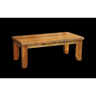 Barnwood Coffee Table with Square Legs
