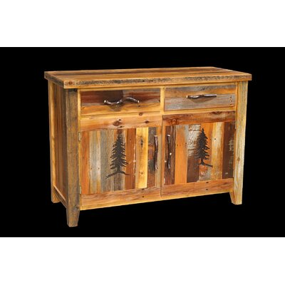 Barnwood 2 Drawer Server