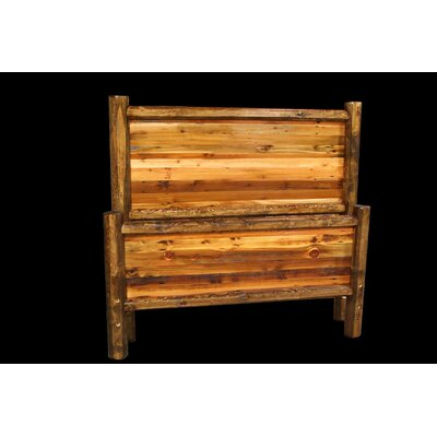 Barnwood Bed Size: California King