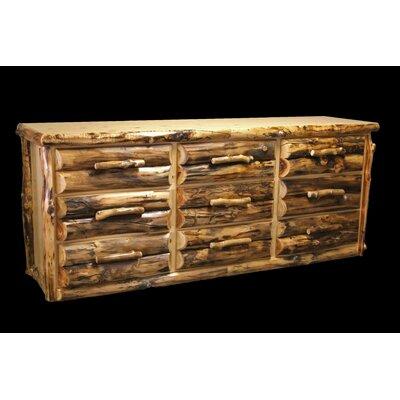Aspen 9 Drawer Dresser