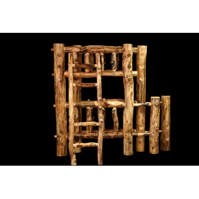 Aspen Bunk Bed Size: Full over Queen