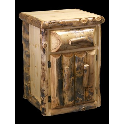 Aspen 1 Drawer Nightstand
