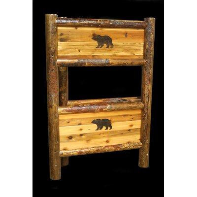 Barnwood Bunk Bed Size: Twin over Twin