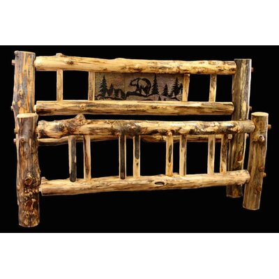 Aspen Bed Frame Size: King
