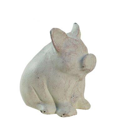Ci.Sitting Pig Figurine
