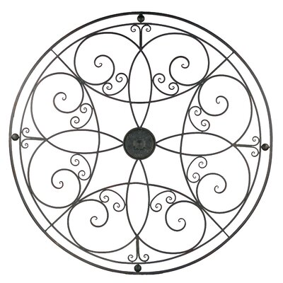 Metal Round Wall Decor