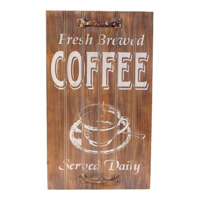 Wood Sign 'Coffee' Wall Decor