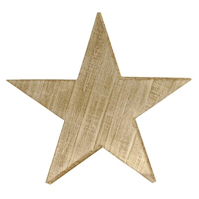 Wood Star Wall Decor Size: Large