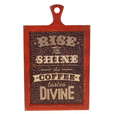 Wood Sign 'Divine' Wall Decor