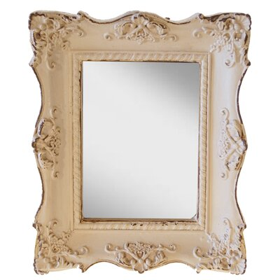 Chantilly Mansion Mirror Finish: Antique White