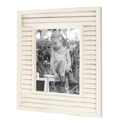 Emily Shutter Picture Frame Size: 10 x 8
