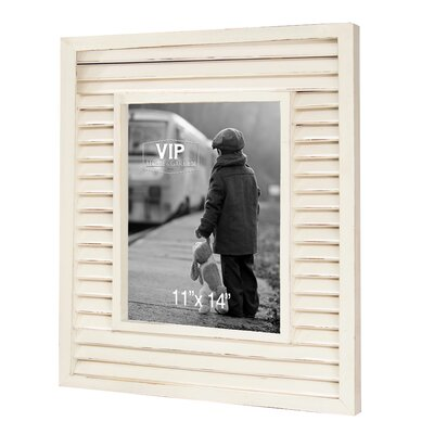 Emily Shutter Picture Frame Size: 14 x 11