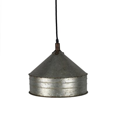 12.5 Metal Bowl Pendant Shade