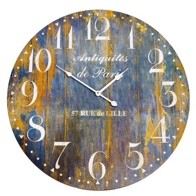 23 Wood Clock