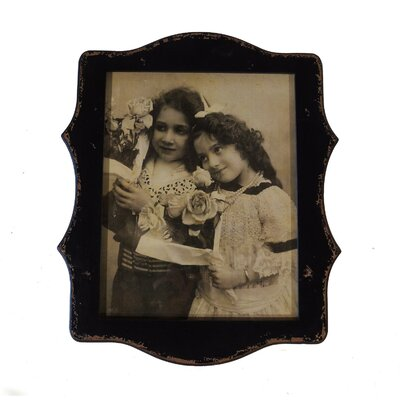 Wood Scalloped Picture Frame