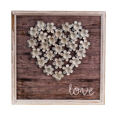 Wood Love Plaque Wall Décor