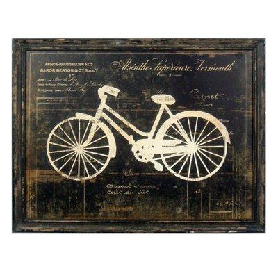 Wood Decor Framed Painting Print