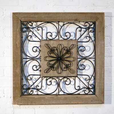 Metal Square Wall Décor