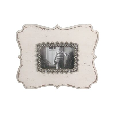 Wood Jeweled Picture Frame MT1752