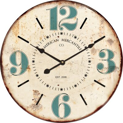23 Wood Wall Clock