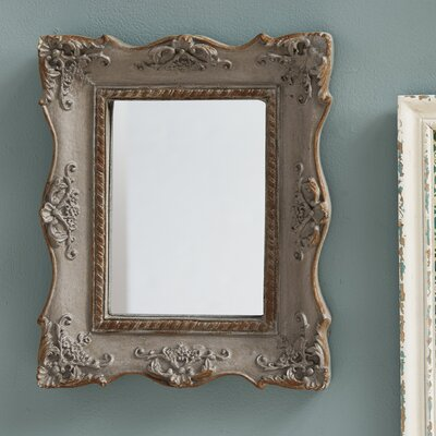 Chantilly Mansion Mirror Finish: Antique Gray