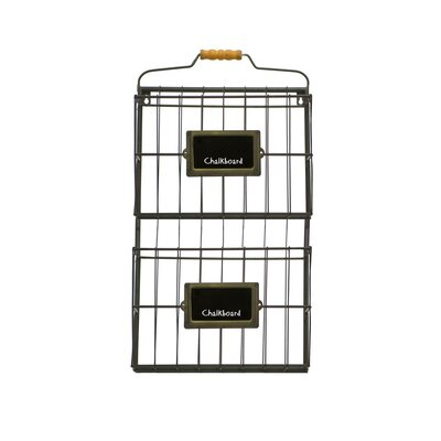 Wall Mount Double File Holder