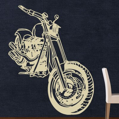 Motorcycle Wall Decal Size: 56