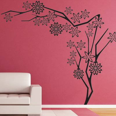 Flower Tree III Wall Decal Size: 24