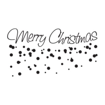 """Merry Christmas Wall Decal Size: 14"""" H x 31"""" W, Color: Turquoise"""