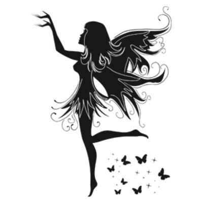 Magic Fairy Wall Decal Size: 32