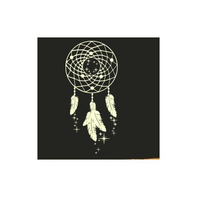 Star Catcher Wall Decal Size: 61